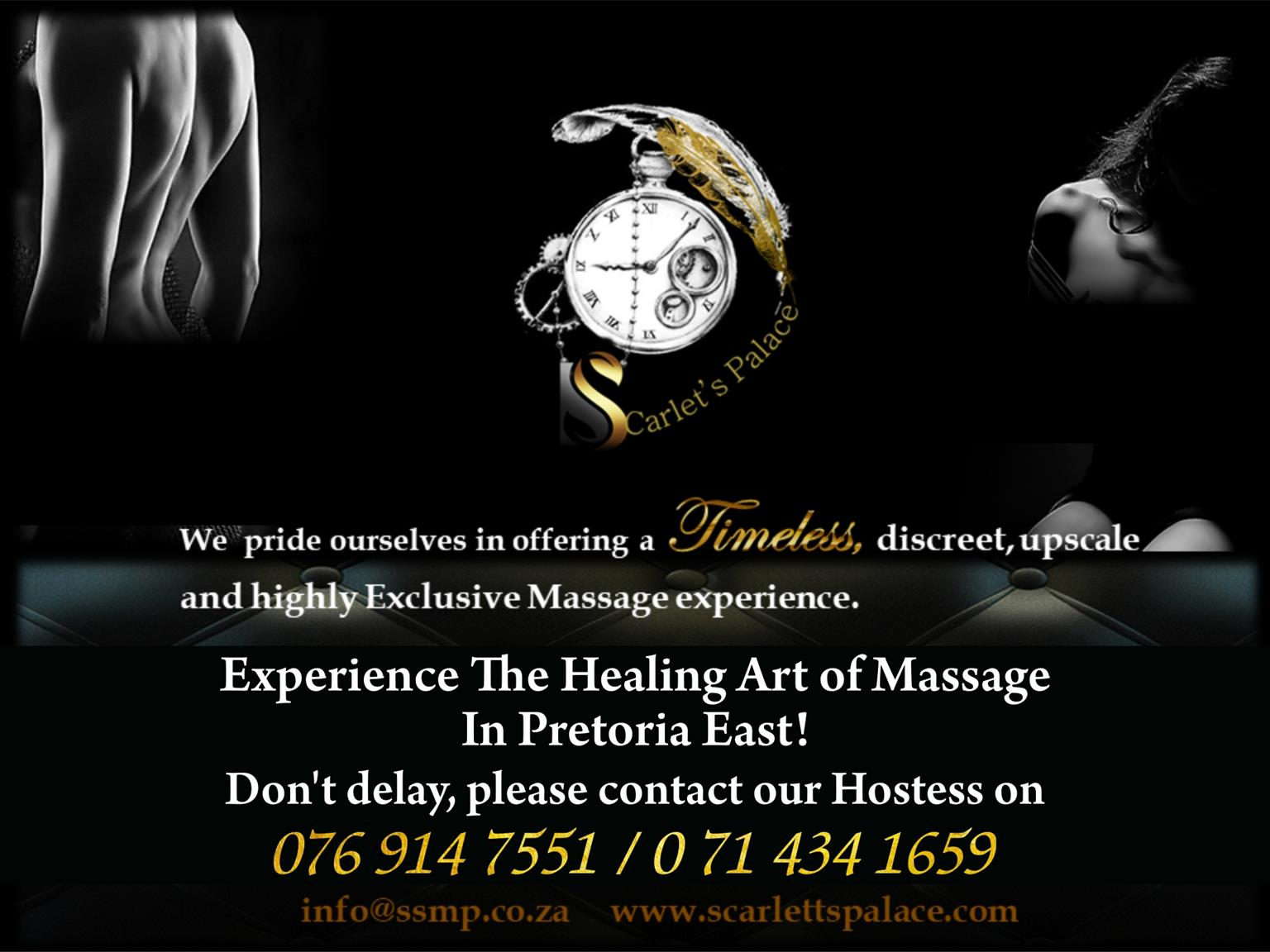 Massage and Healing Art Offered in Pretoria East