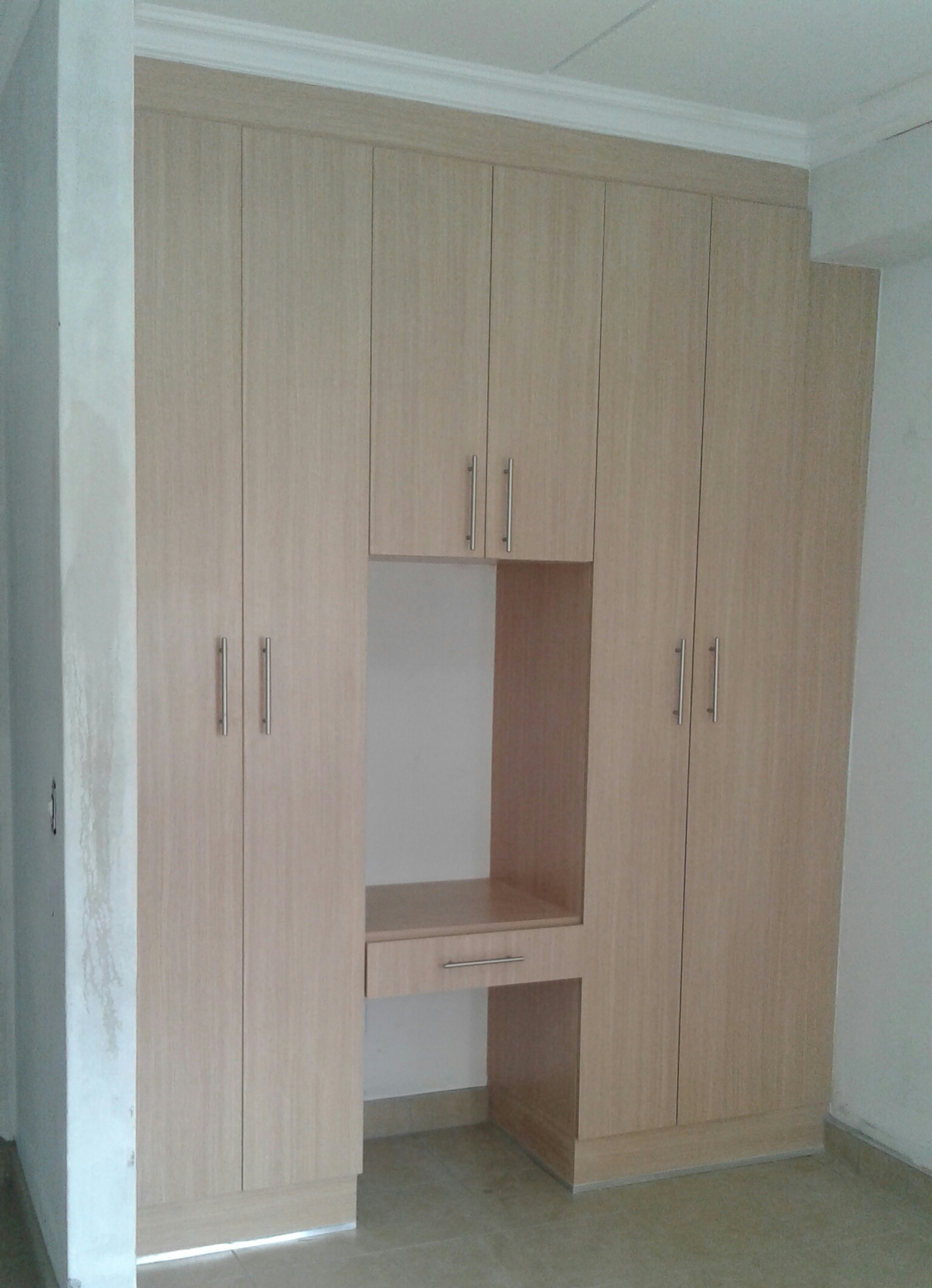 Bedroom and bathroom cupboards for sale