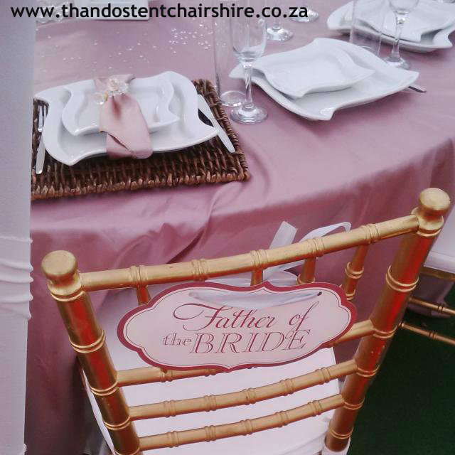 Wedding deco and equipment for hire
