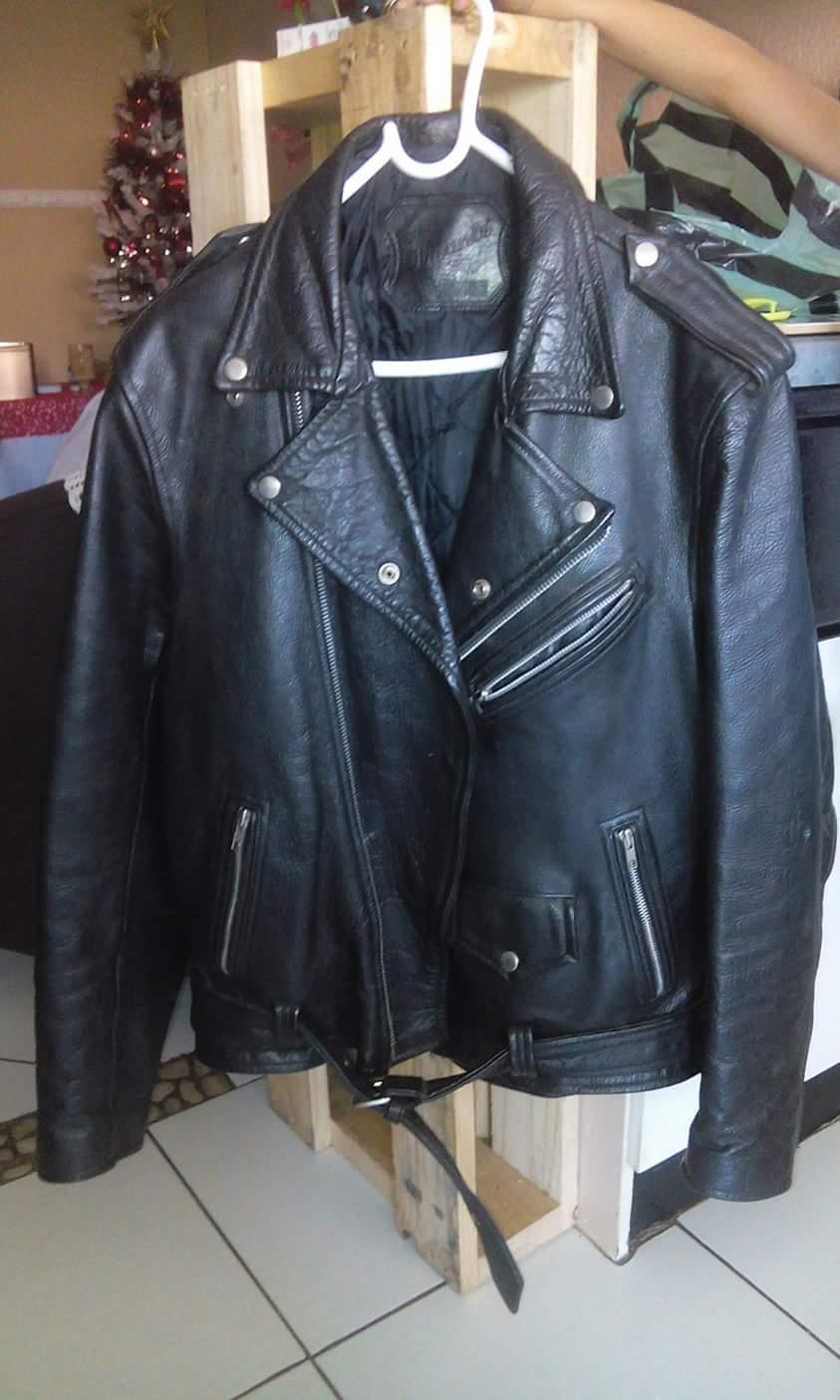 Genuine leather Viante jacket