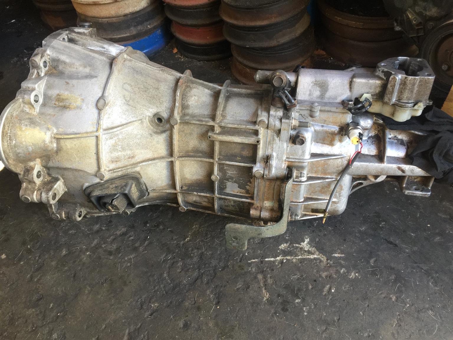 Isuzu KB300LX Dtec Gearbox