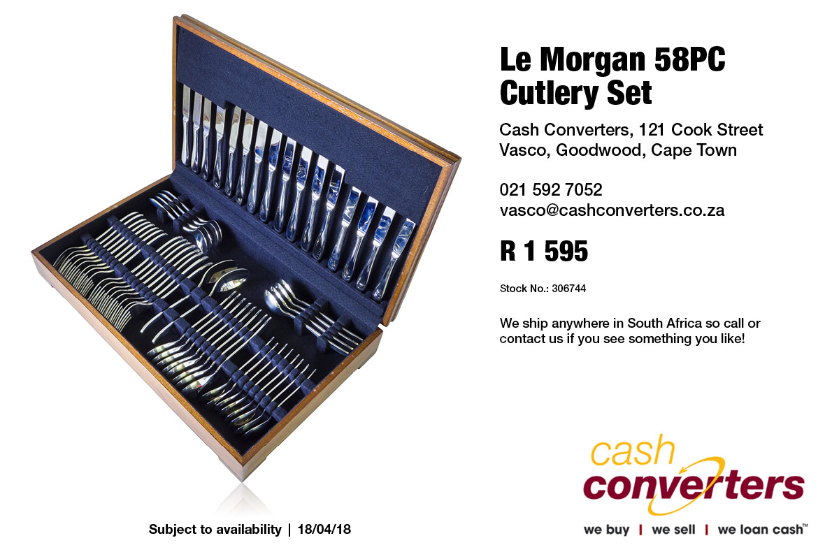 Le Morgan 58PC Cutlery Set