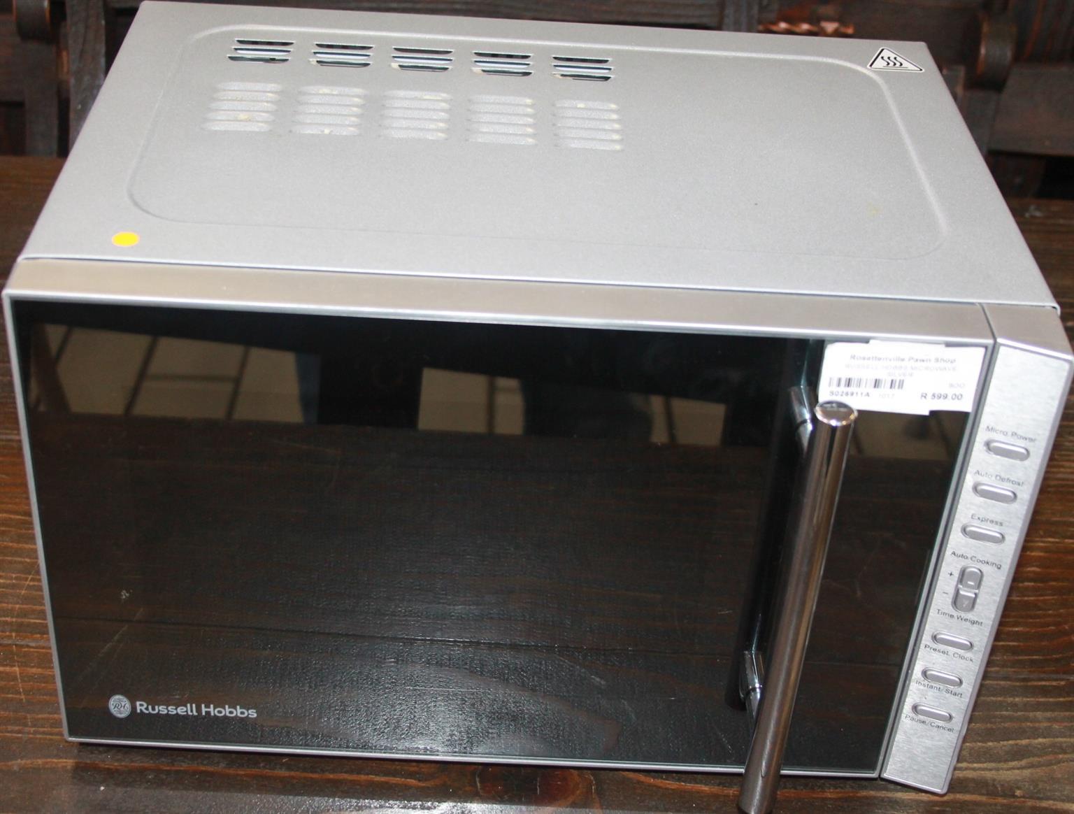 Russell hobbs microwave S026911a  #Rosettenvillepawnshop