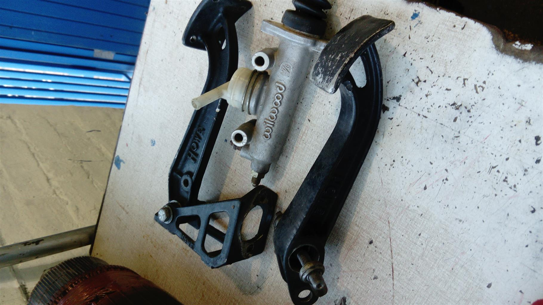 wilwood master cylinder and racing pedals | Junk Mail
