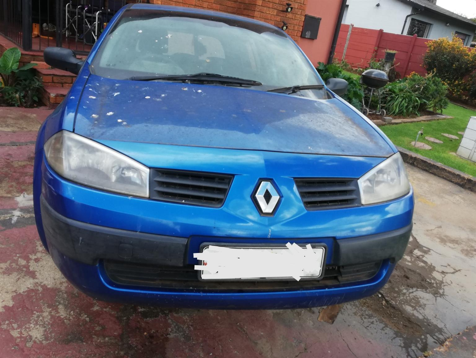 Renault Megane 2004 seats front and back