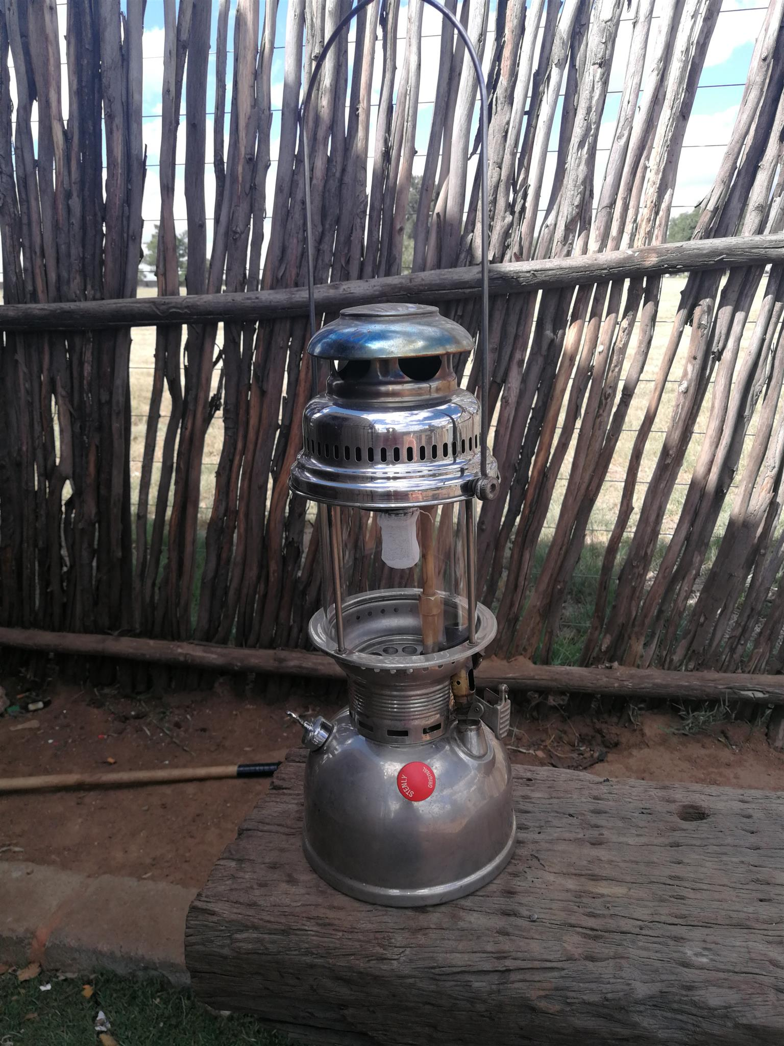 Antique lamp from 1961