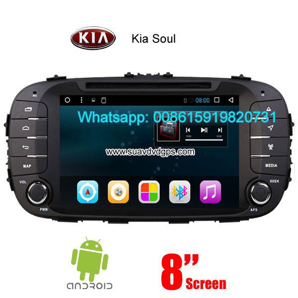 Kia Soul car audio radio android wifi dvd GPS camera navigation