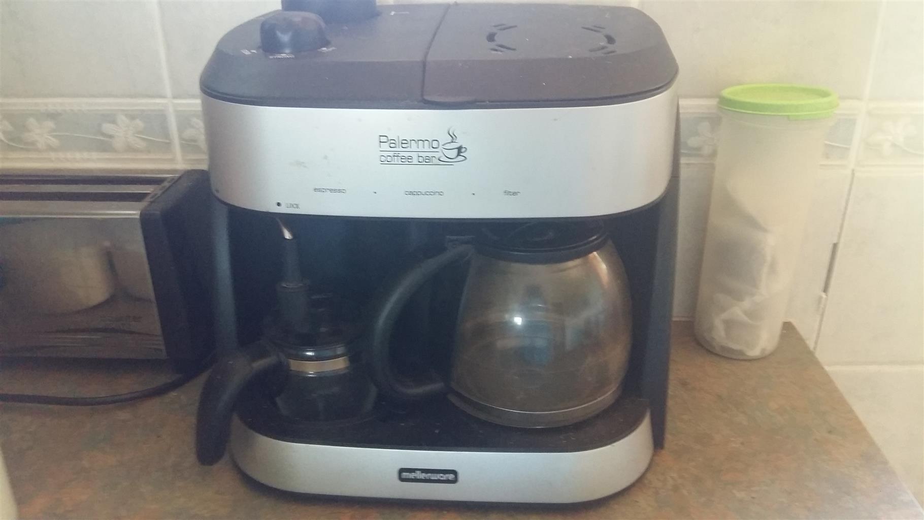 Cappacino. Coffee expresso machine
