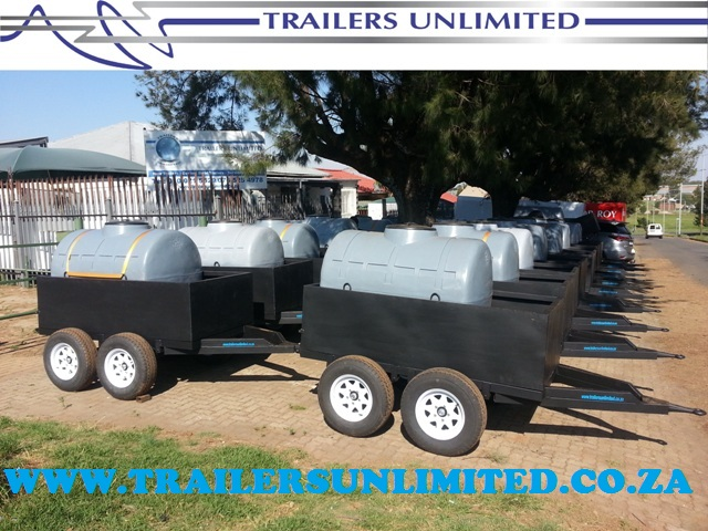 TRAILERS UNLIMITED WATER TANK TRAILERS.
