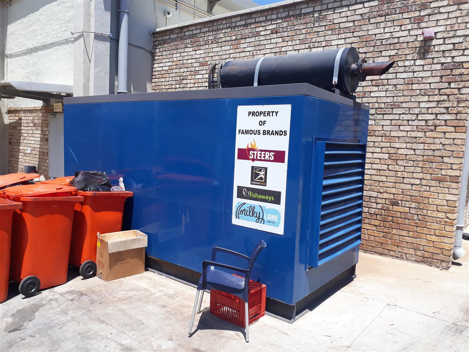 2 x Industrial Generators for sale