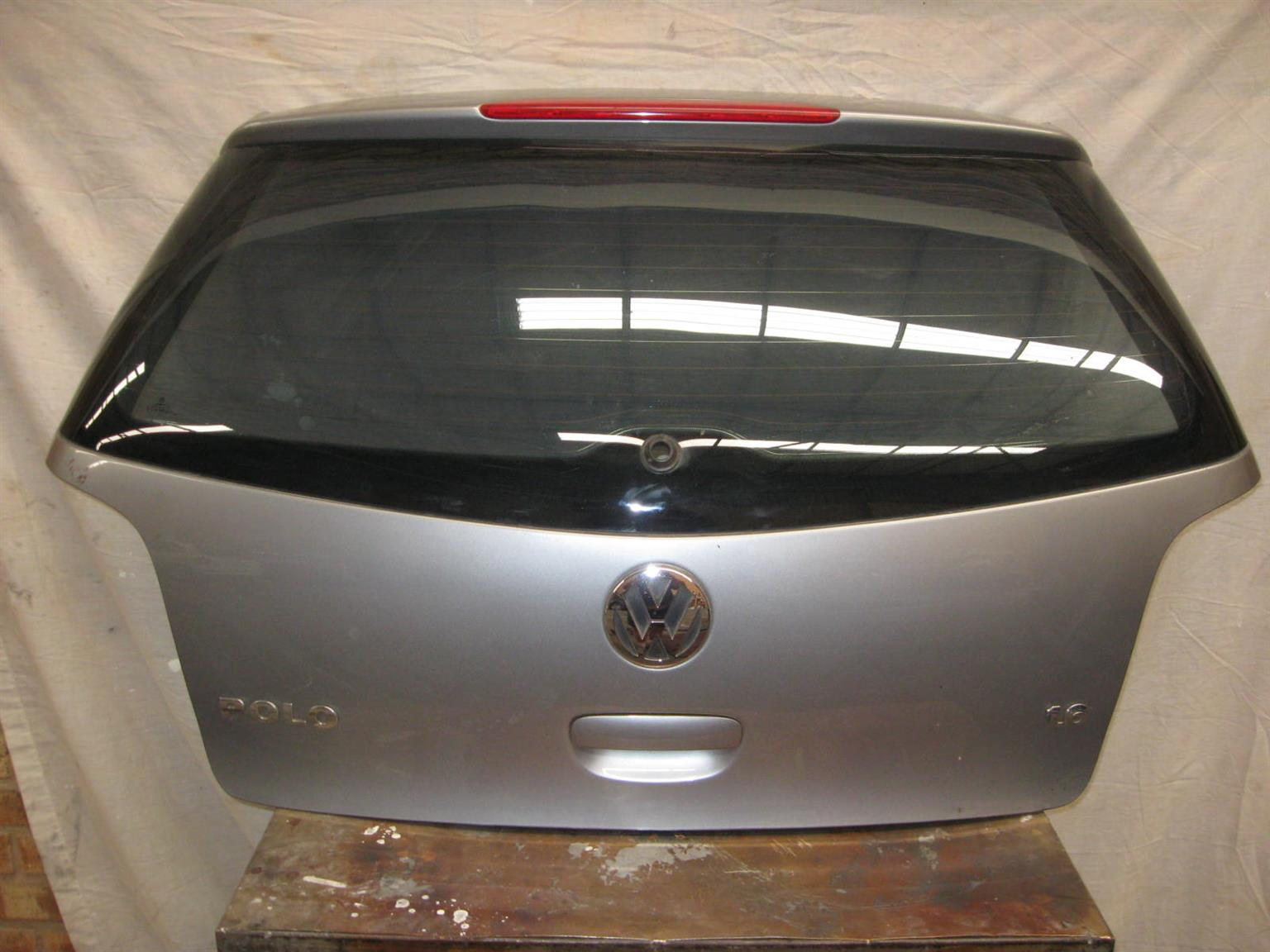 2008 VW Polo Tailgate and Back bumper