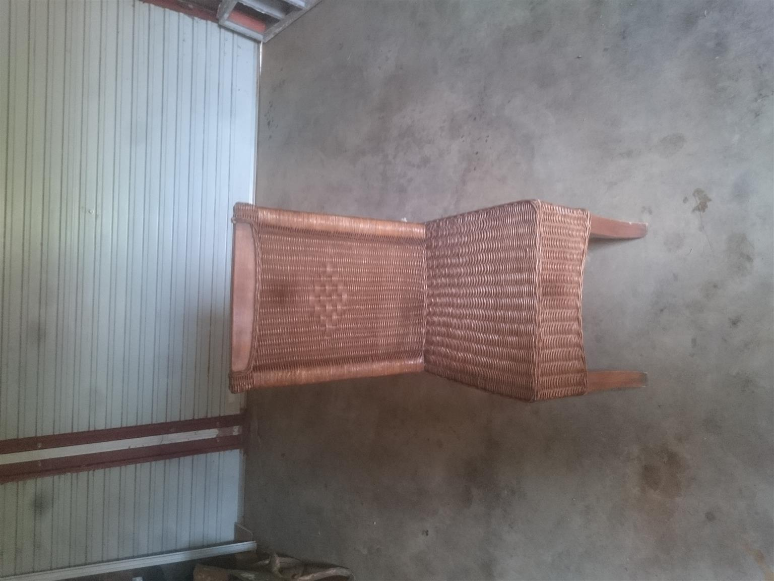 Solid wood table and 8 chairs for sale