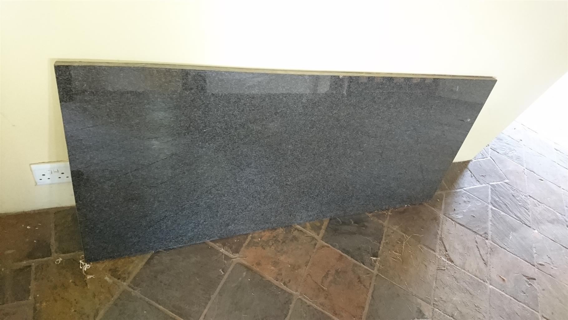 Rustenburg black granite kitchen top