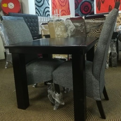 New 2 Seater Grey Dining Set