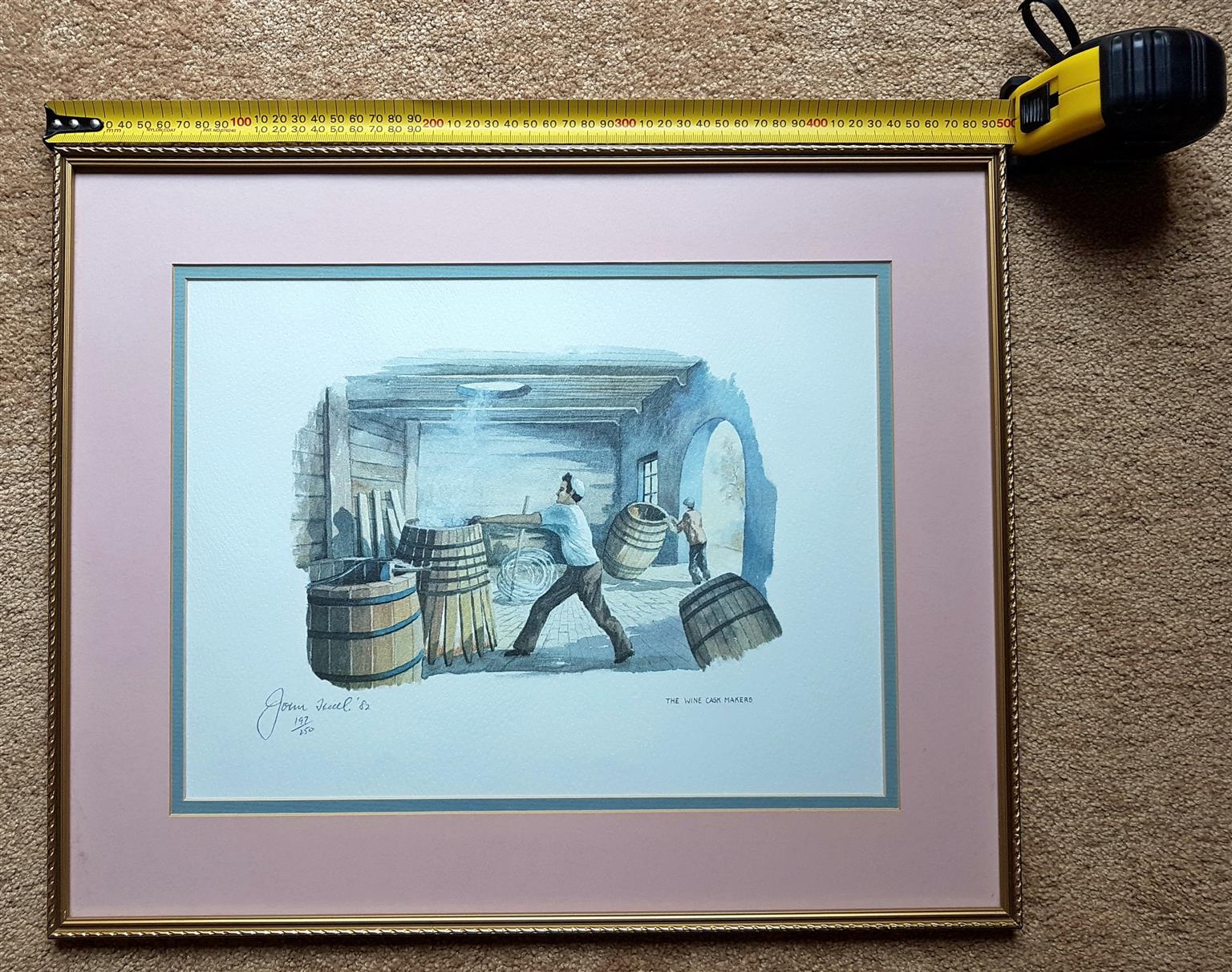 John Hall framed limited edition prints