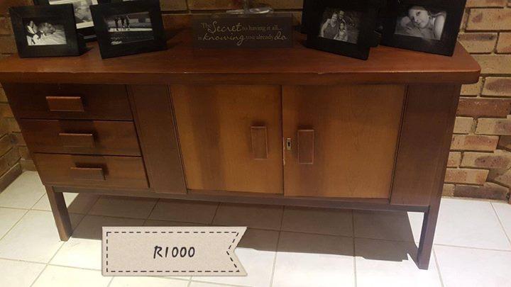 Wooden server cabinet