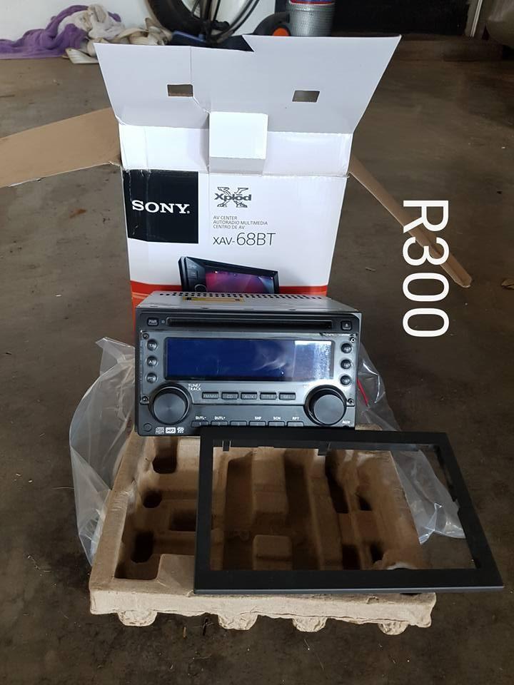 Sony kar radio te koop