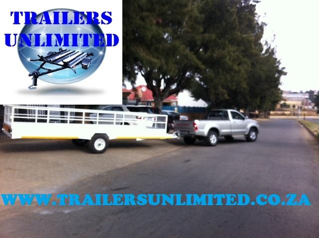 6000 x 2000 x 950 Utility Trailer