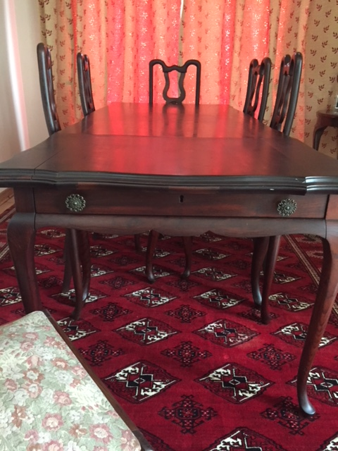 Imbuia 8 Seater Dining Room Suite