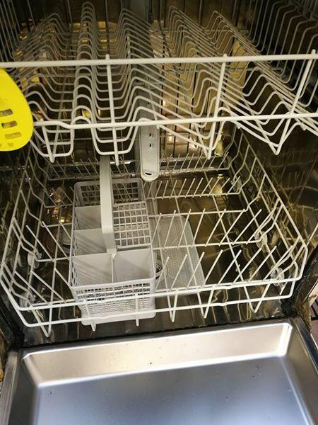 Dishwasher in working order.