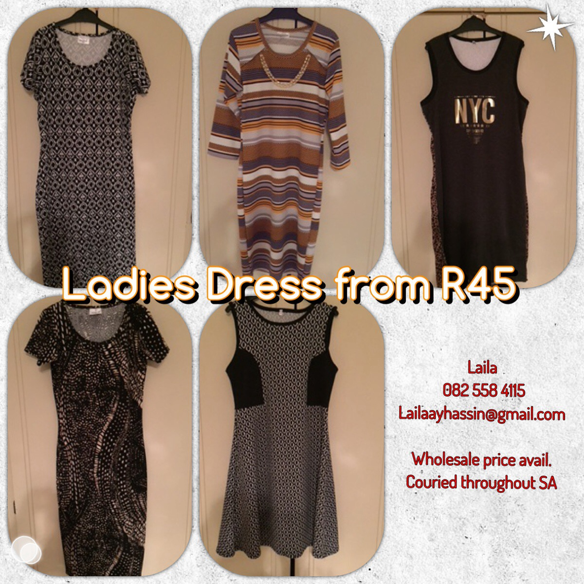 NEW Clothes , SALE Prices for Easter from R10