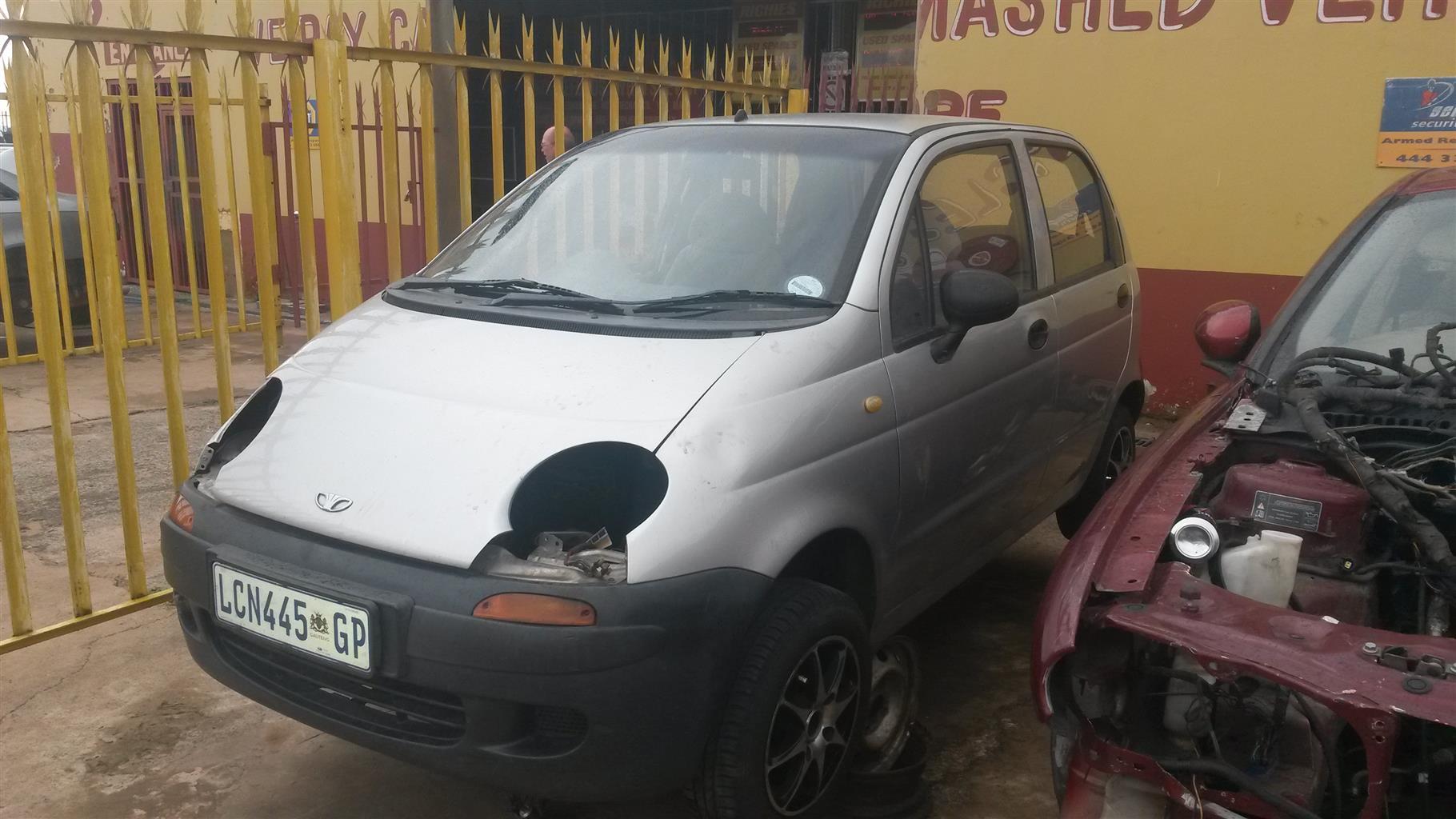 Daewoo matiz stripping for spares | Junk Mail