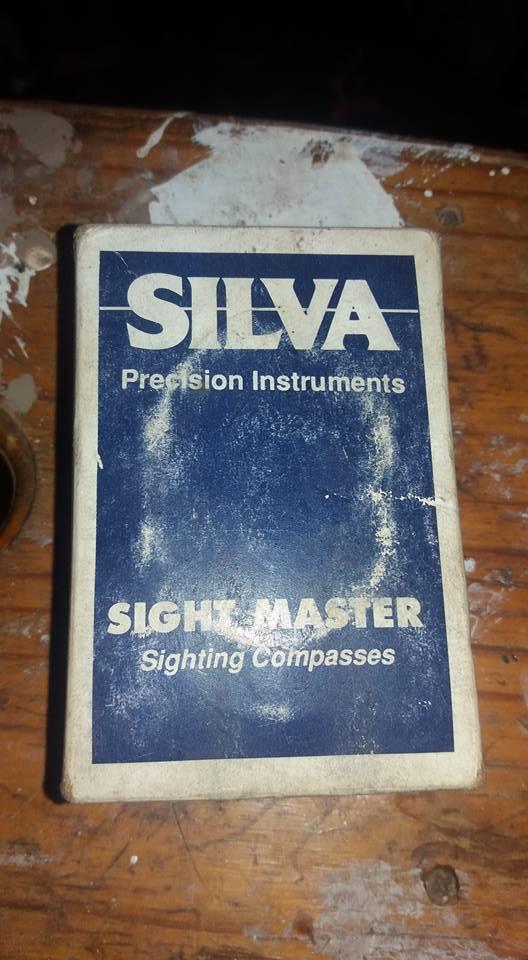 Sight master sighting compass