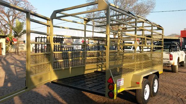 3m Livestock and Multi trailer
