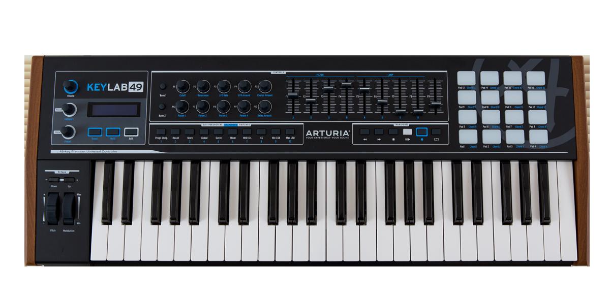 Arturia Keylab 49 Midi Keyboard Controller,NEW.