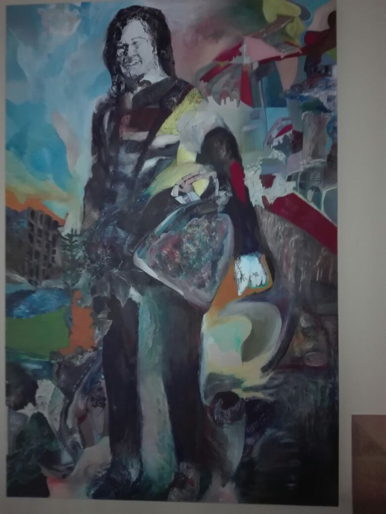 Large painting 1.5mx1m for sale.