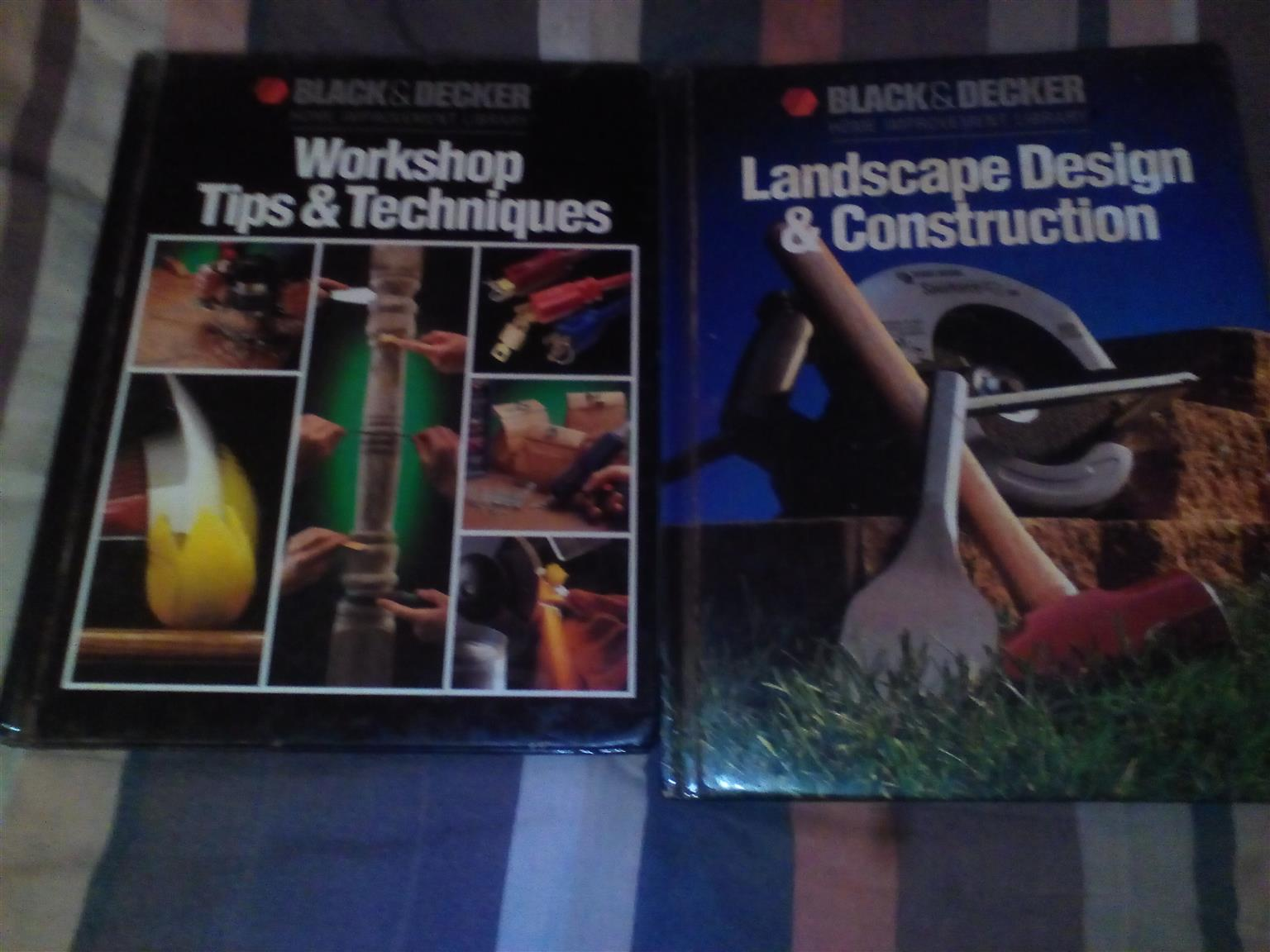 9black and. decker hardcover books