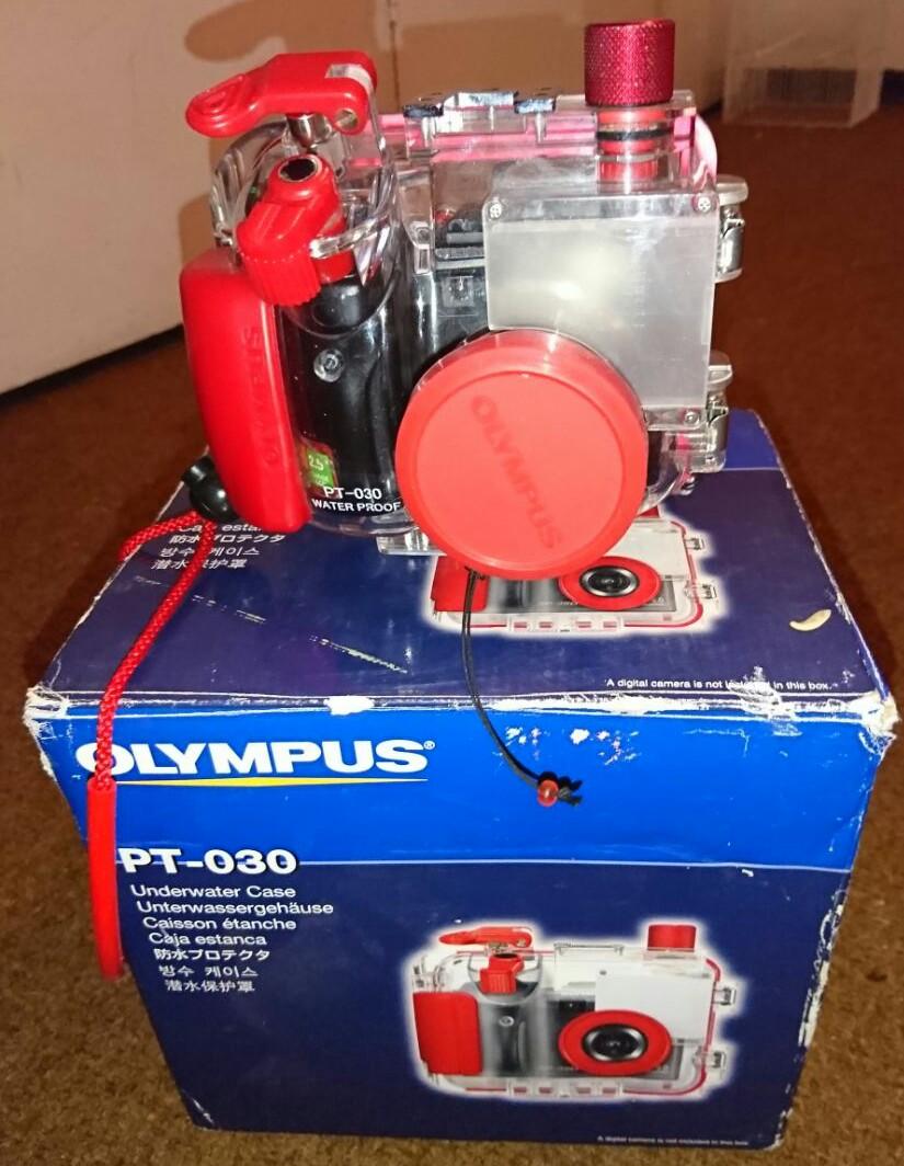 Olympus sp350 scuba diving camera