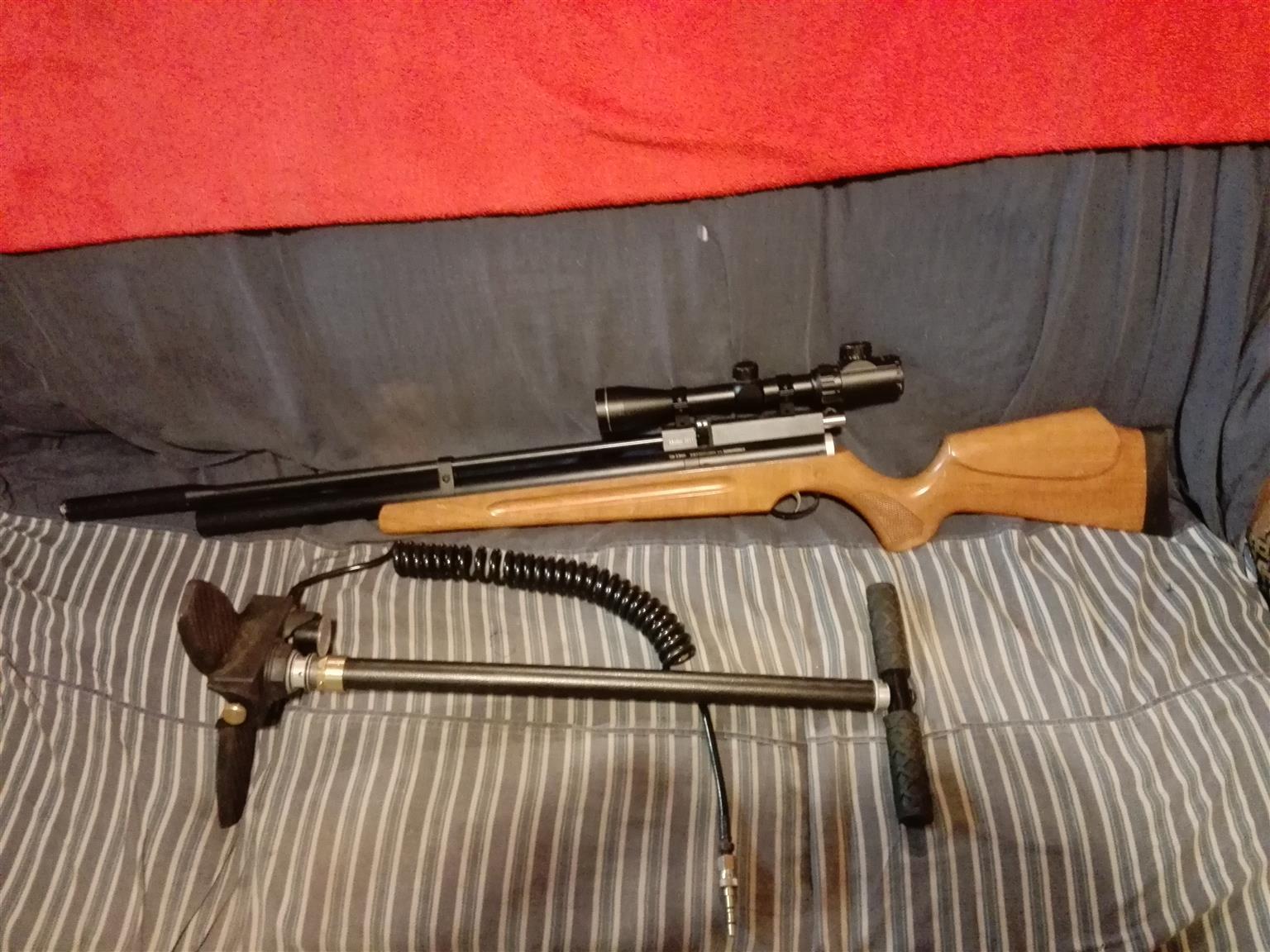 Hashan 5.5 mm pcp air rifle