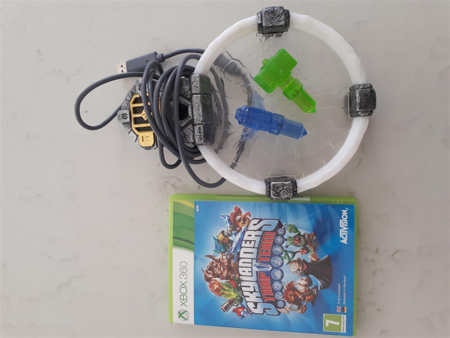 Skylander Trapteam and Portal for Xbox 360