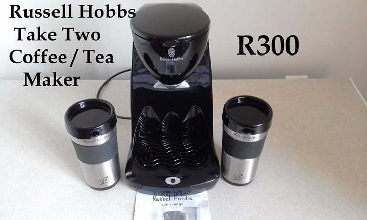 Russell Hobbs coffee and tea maker