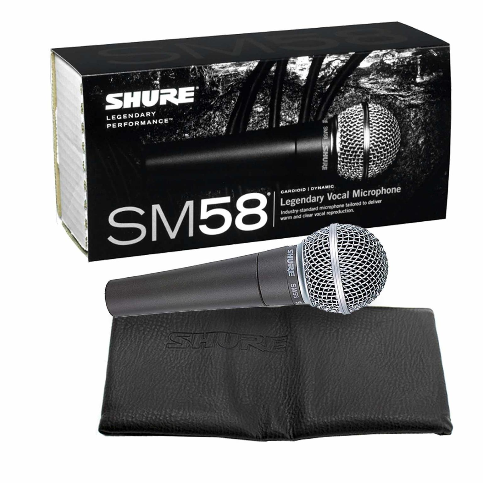 SHURE SM58,promotional price for April,2018. New Stock!