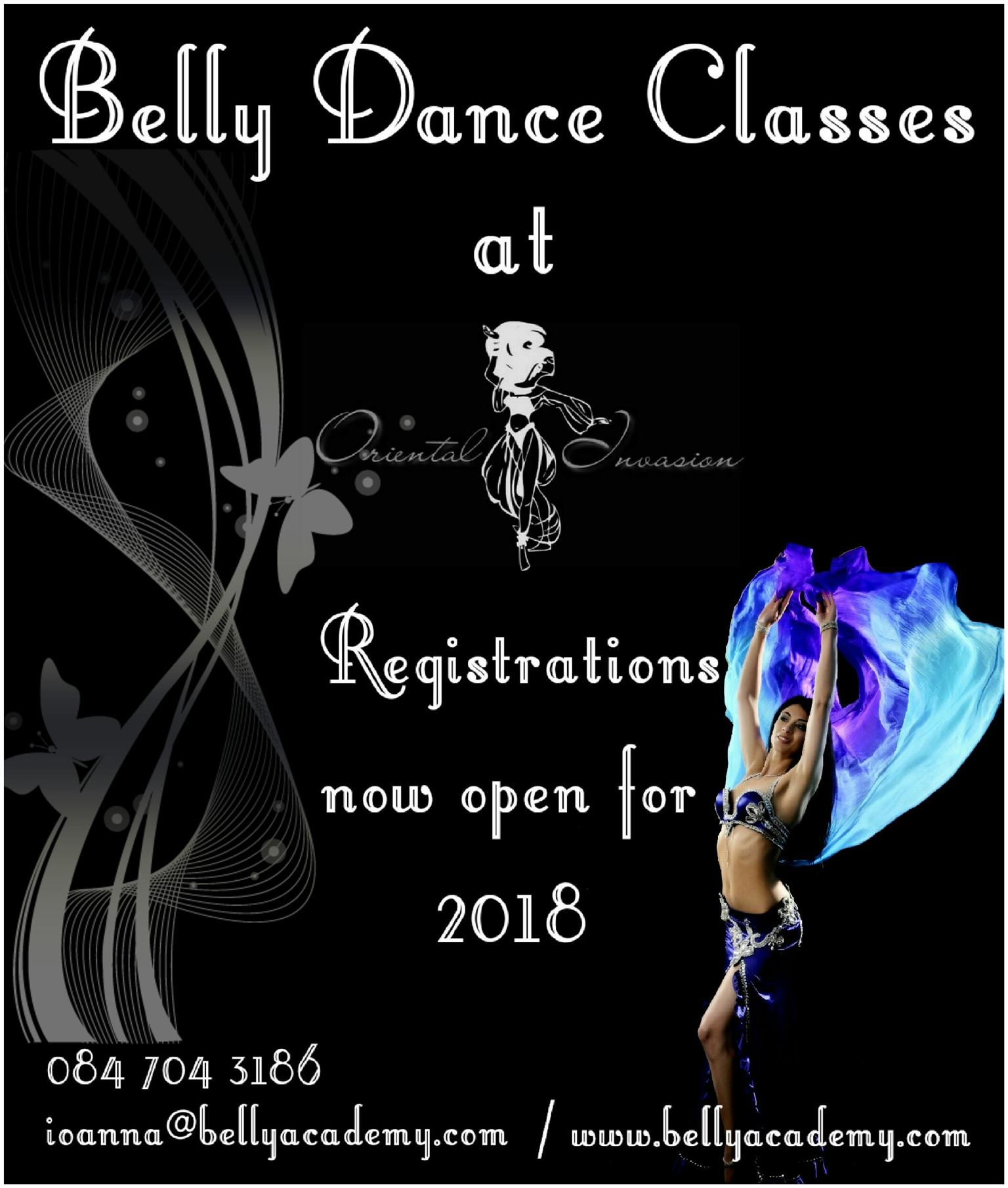 Belly Dance Classes 2018
