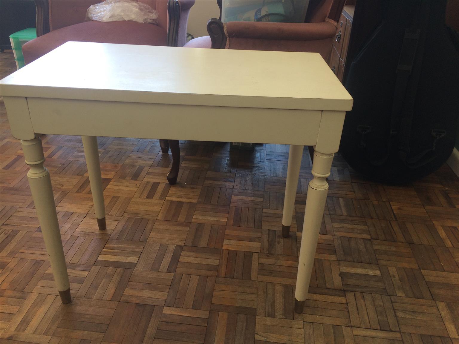 Antique piano stool