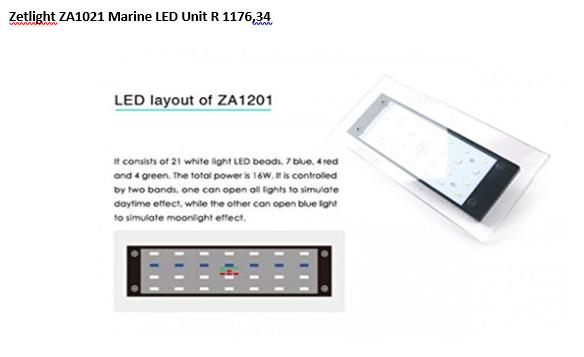 Marine Aquarium LED Units and Red Sea Coral Pro Salt Specials