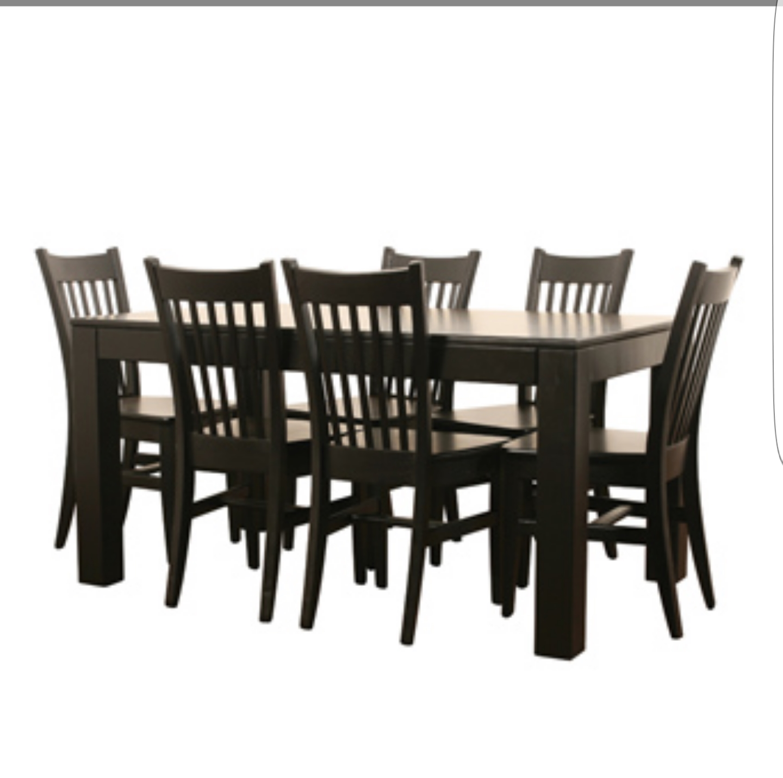 6 Seats Plus Table Dining Room Set