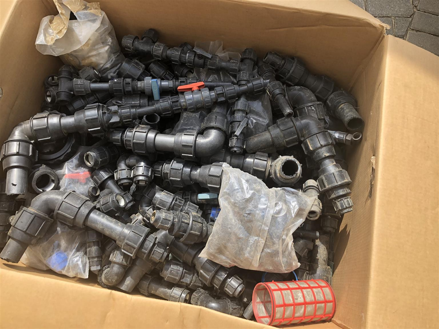 Irrigation Pip Fittings new  & secondhand in good condition