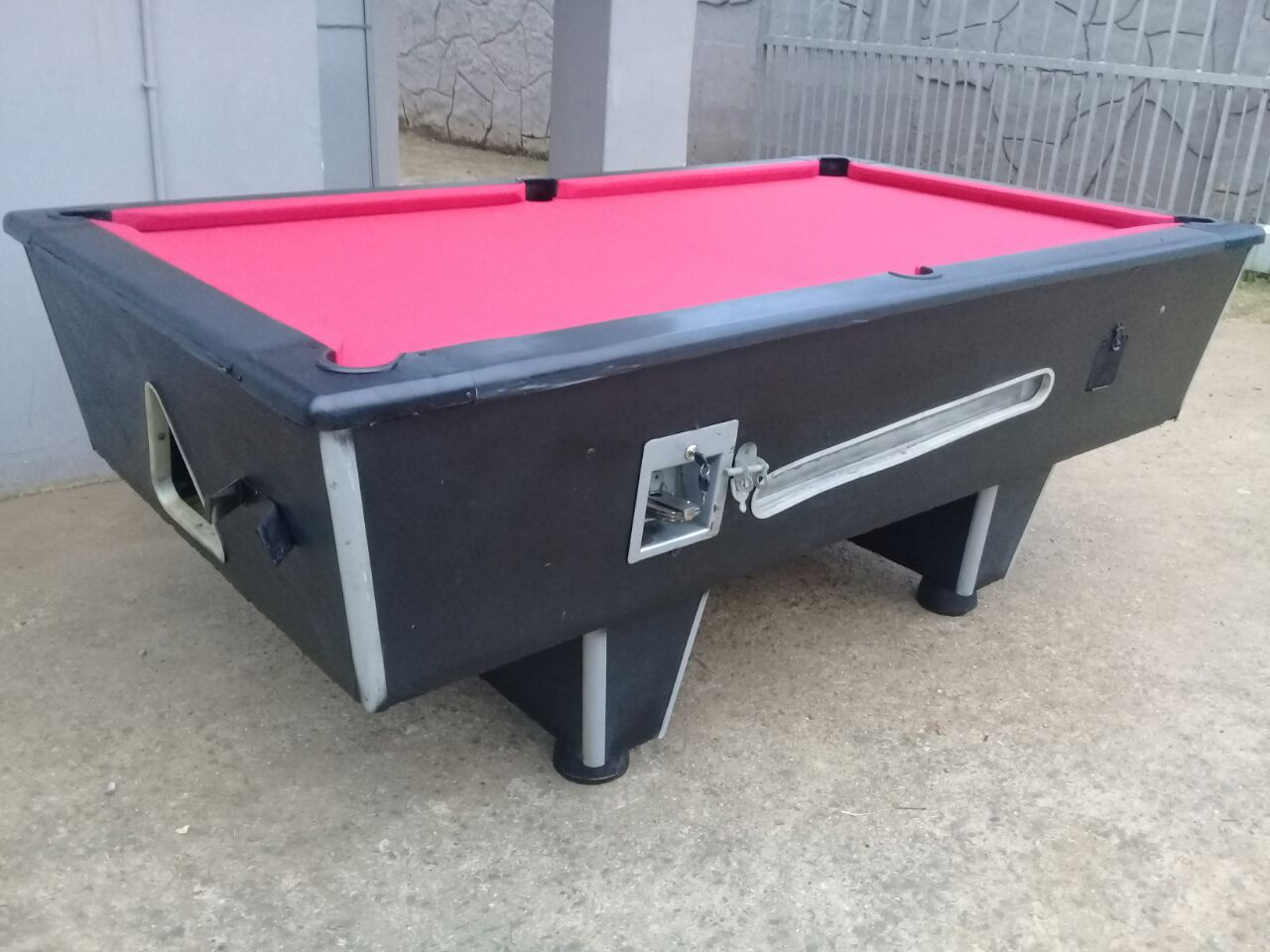 Coin operated Pool table URGENTLY WANTED DEAD or ALIVE