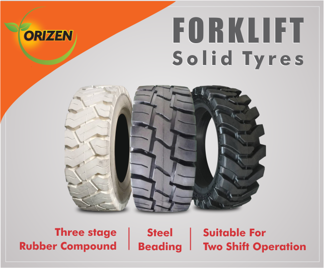 Orizen Group is a leading distributor of Forklift, Forklift Tyres, Batteries, Battery Chargers and All Accessories