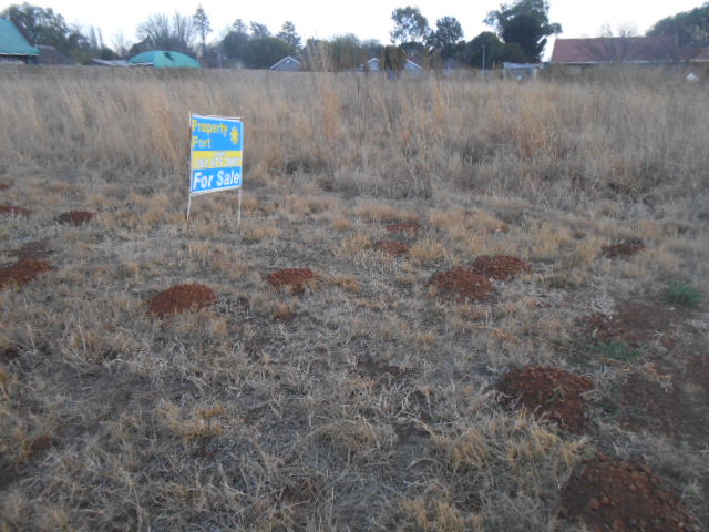 Land for sale in up coming residential area.