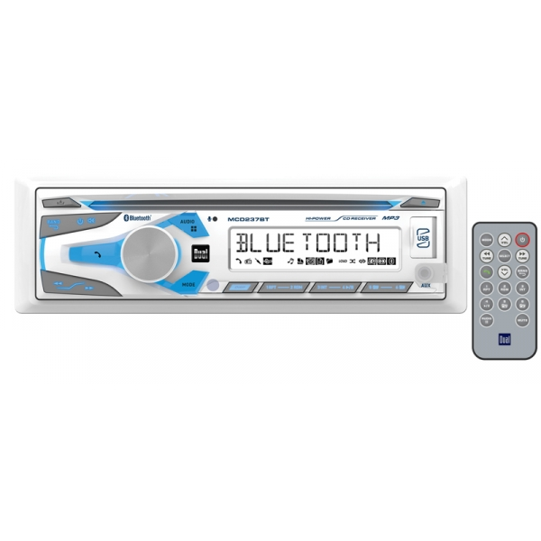 Dual Marine MCD237BT CD Receiver Sound System For Your Boat
