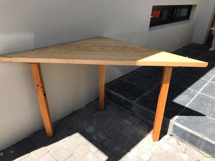 Triangular Desk