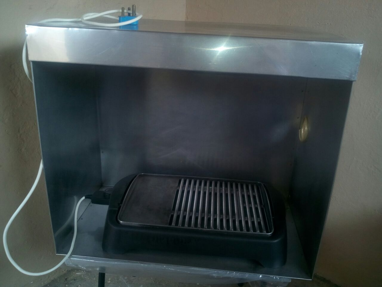 Electric grill and stand