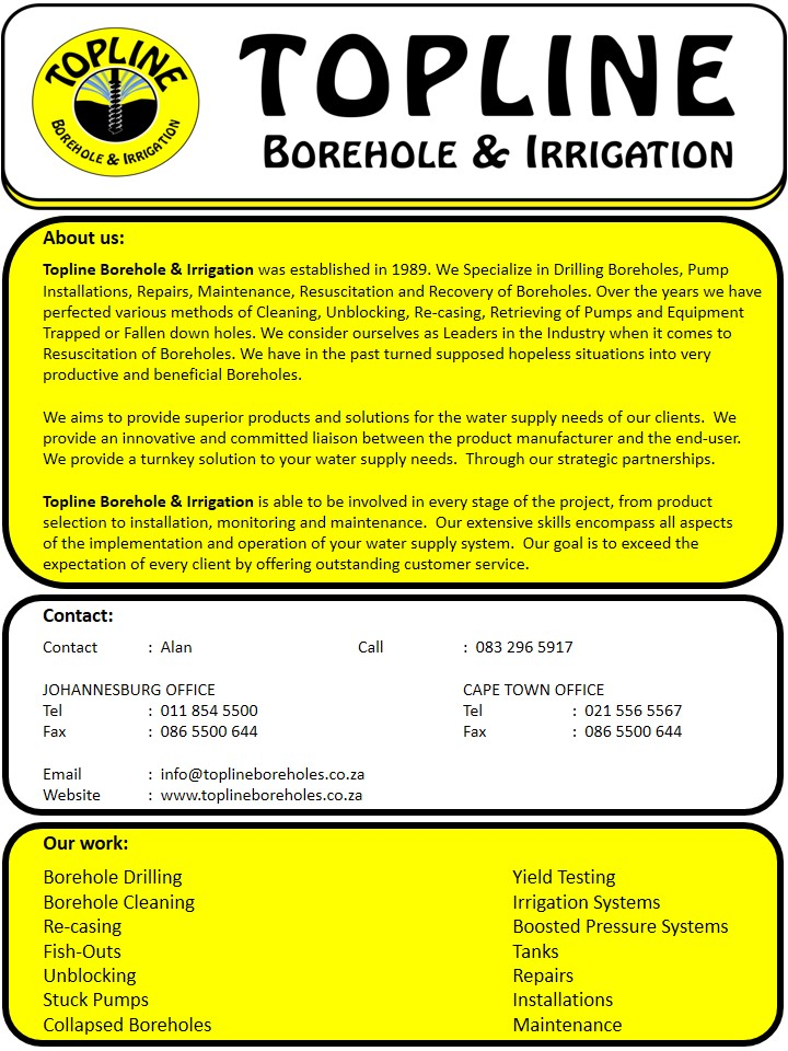 Gauteng Specialists In #Borehole Drilling  Tel : (+27) 832965917