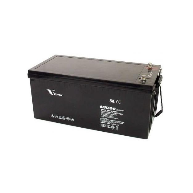 Vision 200ah 12v deep cycle battery