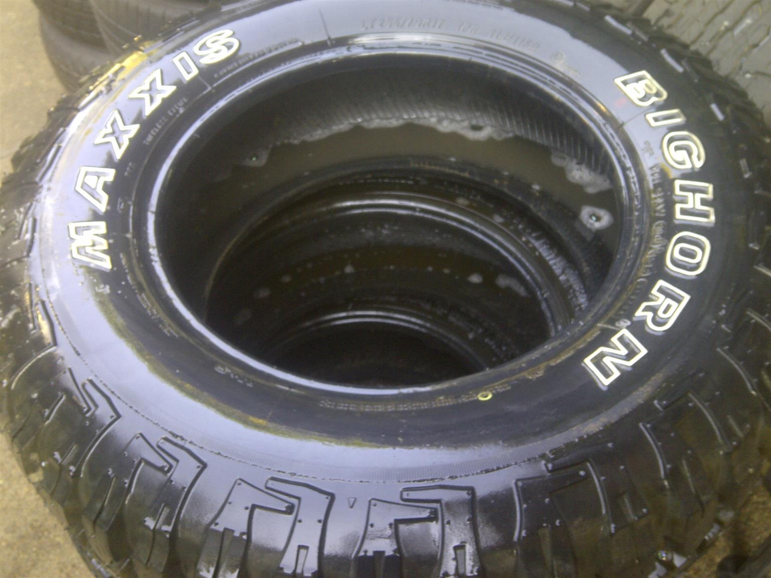1xBighorn Maxxis tyres 265/70/17,brand new!!